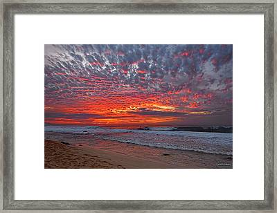 Framed Print featuring the photograph Sunset On The North Shore by Aloha Art