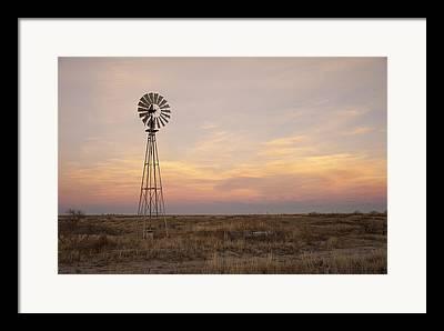 Dry Lake Photographs Framed Prints