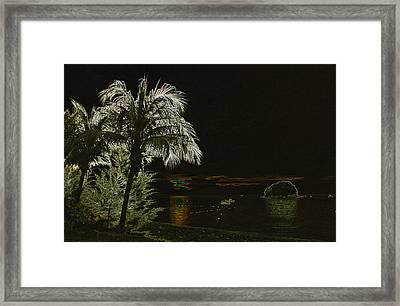 Sunset On Tioman Island Framed Print by Sergey Lukashin