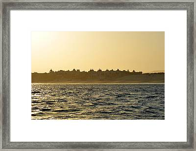 Framed Print featuring the photograph Sunset Over Cabo by Christine Till