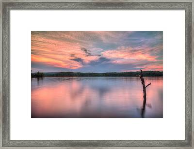 Sunset Over Cootes Framed Print by Craig Brown