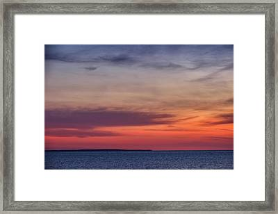 Sunset Over Herring Cove 002 Framed Print
