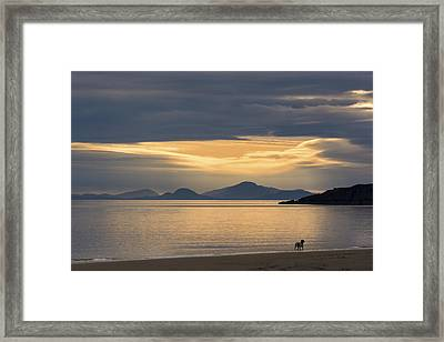 Sunset Over Lewis Framed Print