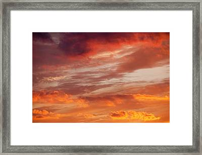 Sunset Over Loughrigg Framed Print