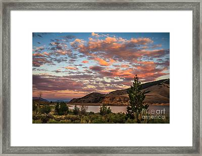 Sunset Over Mackay Framed Print