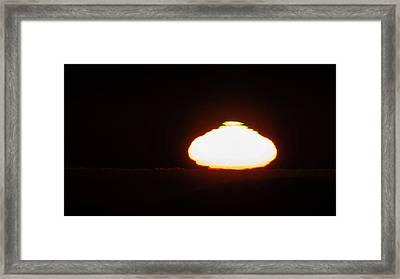 Sunset Over The Atacama Desert Framed Print by Babak Tafreshi