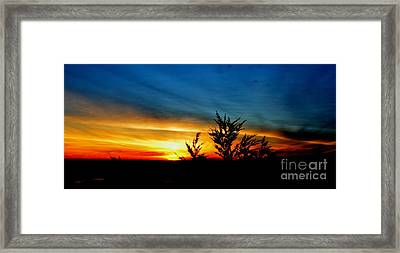 Sunset Overlooking Pacifica Ca IIi Framed Print by Jim Fitzpatrick