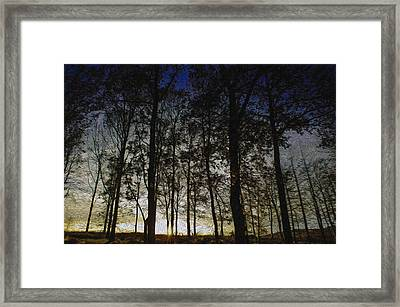 Sunset Framed Print by Paul Dale