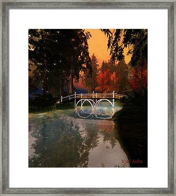 Sunset Perfected Framed Print by Kylie Sabra
