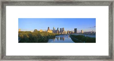 Sunset, Philadelphia, Pennsylvania Framed Print by Panoramic Images