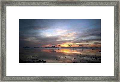 Sunset Philippines Framed Print