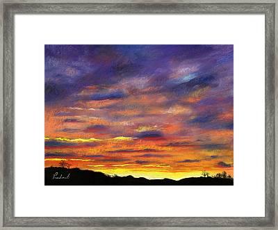 Sunset Framed Print by Prashant Shah