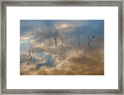 Sunset Reflection Framed Print by Jean-Pierre Ducondi