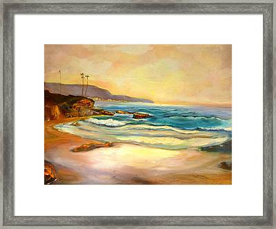 Sunset Framed Print by Renuka Pillai