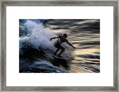 Sunset Ride 2 Framed Print by John Daly
