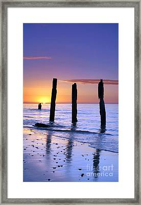 Sunset Romance Framed Print by Bill  Robinson