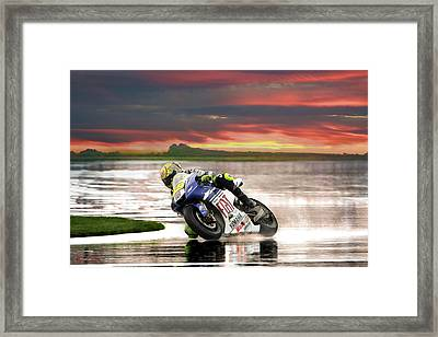 Sunset Rossi Framed Print