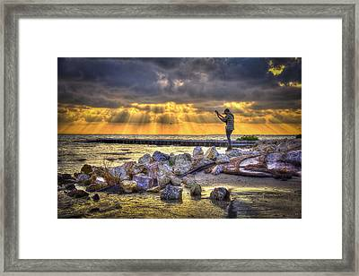 Sunset Serenade  Framed Print by Marvin Spates