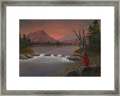 Sunset Serenade Framed Print by Sheri Keith