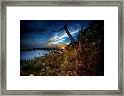 Sunset Serenity Framed Print by Mark Andrew Thomas