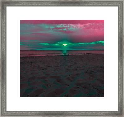 Sunset Spectrum Framed Print by Dan Sproul