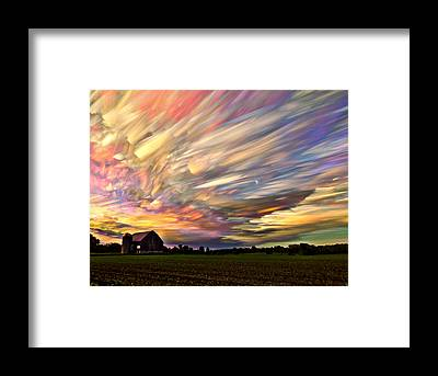 Barns Framed Prints