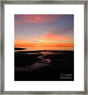 Field River, Hallett Cove Framed Print