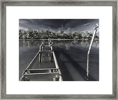 Sunset Summon Framed Print by Stellina Giannitsi