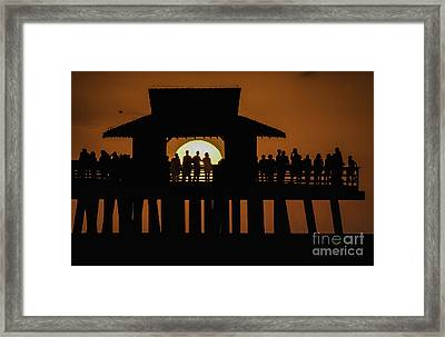 Sunset Supervisors Framed Print