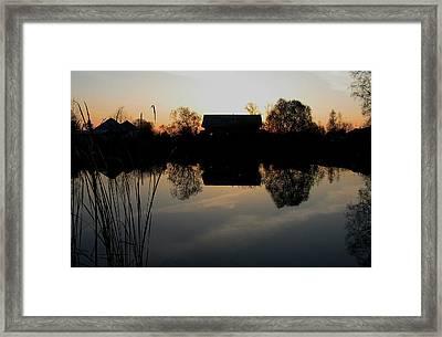 Sunset Talmenka Framed Print by Alexei Biryukoff
