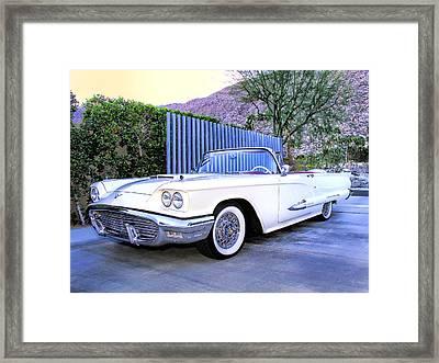 Sunset Thunderbird 2 Palm Springs Framed Print