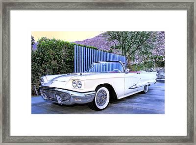 Sunset Thunderbird Palm Springs Framed Print