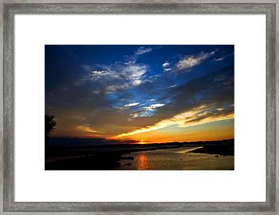 Sunset  Framed Print by Tim Buisman