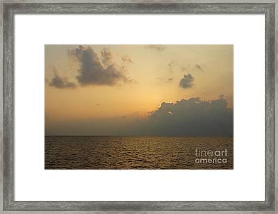 sunset time Oahu Framed Print by Nur Roy