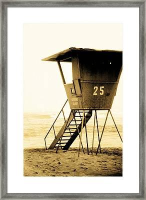 Sunset Tower 25 Framed Print