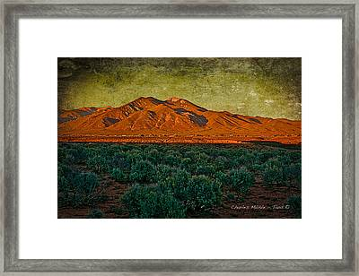 Sunset V Framed Print