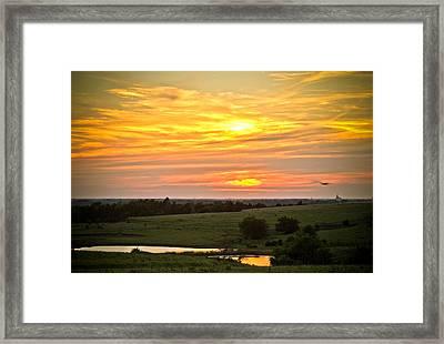 Sunset Viii Framed Print by Tracy Salava