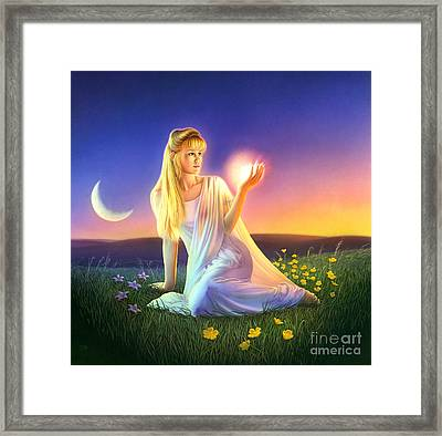 Sunset Visions Framed Print by Andrew Farley