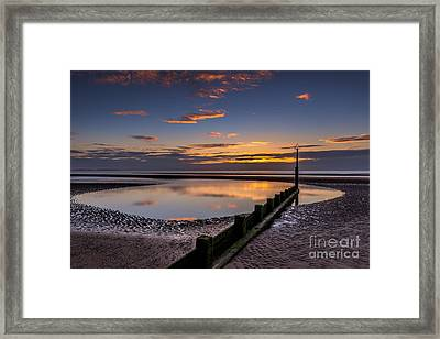Sunset Wales Framed Print by Adrian Evans
