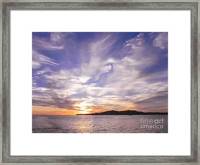 Sunset1 Framed Print