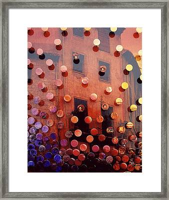 Sunsetsegue2 Framed Print by Irmari Nacht