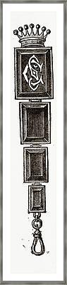 Sunshade Suspender Framed Print