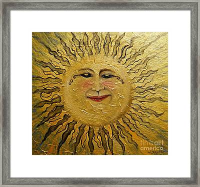 Sunshine 2012 Framed Print