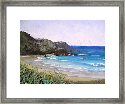Sunshine Beach Qld Australia Framed Print