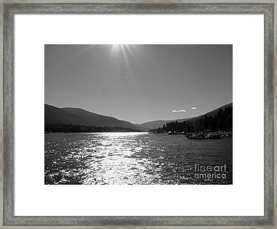 Sunshine Beams Framed Print by Leone Lund