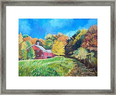 Sunshine Before The Storm Framed Print by Frank Giordano