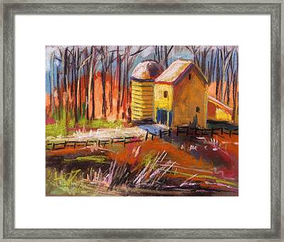 Sunshine Farm Framed Print by John Williams