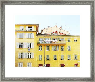 Sunshine House Framed Print
