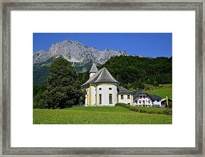 Sunshine In Ettenberg Framed Print