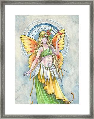 Sunshine Framed Print by Sara Burrier